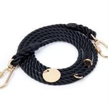 Black Rope Leash Adjustable