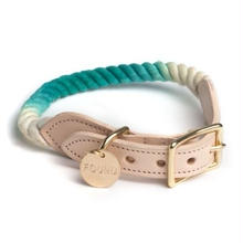Teal Fade Rope Cat&Dog Coller
