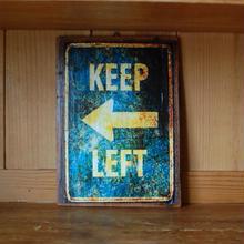 Signboard LEFT