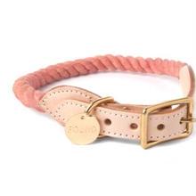 Blush Rope Cat&Dog Coller