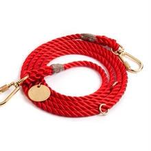 Red  Rope Leash Adjustable