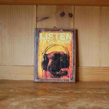 Signboard LISTEN