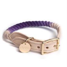 Purple Fade Rope Cat&Dog Coller