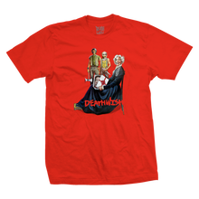 DEATH WISH PROUD MAMA   TEE              RED