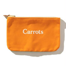 "CARROTS X PACIFIC TOTE CO. ""ZUMA"" POUCH"