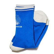 HELLRAZOR LOGO SOX-HARBOR BLUE