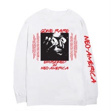 RARE PANTHER GONE RARE  L/S TEE  WHITE