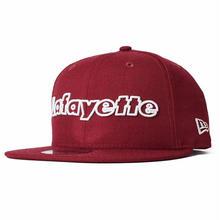 LAFAYETTE NEWERA OUTLINE LOGO 9FIFTY SNAPBACK CAP CARDINAL