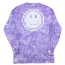 JHF HAVE A NICEDAY L/S TEE PURPLE TIEDIE