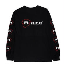 RARE PANTHER INDUSTRIES L/S TEE   BLACK