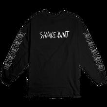 SHAKE JUNT  KADER SKULLS L/S TEE BLACK