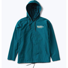 DIAMOND SUPPLY CO STRONG ARM COACHES JACKET    AQUA BLUE