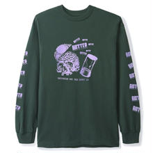 BUTTER GOODS ENEMY L/S TEE, FOREST