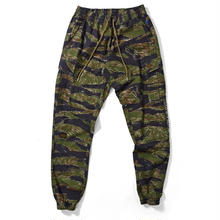 LAFAYETTE COTTON TACTICAL JOGGER PANTS TIGER CAMO