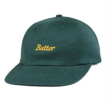 BUTTER GOODS CYCLE 6 PANEL CAP    FOREST GREEN