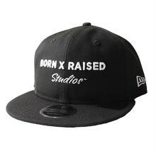 BORNXRAISED   STUDIOS DAD HAT-BLACK