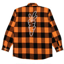 CARROTS SIGNATURE LAMBERJACK FLANNEL ORANGE
