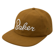 BAKER SKATEBOARDS STRAPBACK  LUCKEY     TAN