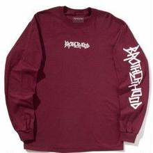 BROTHER HOOD ICONIC L/S TEE  MAROON