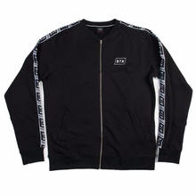 STREET X   ATHLETIC TAPED JACKET    BLACK