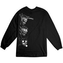 BAKER SKATEBOARDS  NO BRAINNER L/S TEE     BLACK