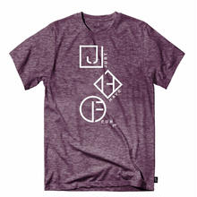 JHF COASTLINE S/S TEE  PURPLE