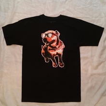 EMERICA x MOUSE-CHEIF DOG TEE   black     grey