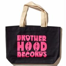 BROTHERHOOOD RECORDS JUMBO TOTE BAG     NAVY