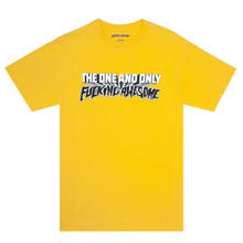 FUCKING AWESOME ONE&ONLY TEE    YELLOW