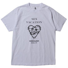 BORNXRAISED SEX VACATION TEE  WHITE