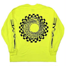 STRAYE  VORTEX L/S TEE  N,YELLOW