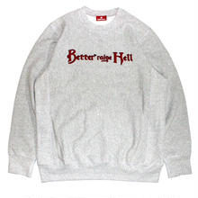 HELLRAZOR X BETTER HELLRAISE AND BETTER CREWNECK GREY
