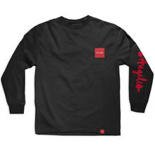 CHOCOLATE LOS ANGELES C.T.W. L/S TEE  BLACK
