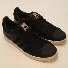 ADIDAS SKATEBOARDING SUPER STAR VULC ADV   BLACK/BLACK/WHITE