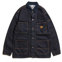 HELLRAZOR  PLATINUM DENIM JACKET INDIGO