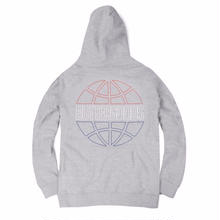 BUTTER GOODS    COMMONWEALTH OUTLINE PULLOVER HEATHER GREY