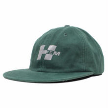 H33M REFLECTIVE LOGO CAP          GREEN