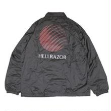 HELLRAZOR OPENING LOGO COACH JACKET  BLACK