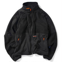 LAFAYETTE RAGLAN FLEECE JACKET BLACK