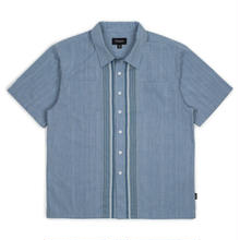 BRIXTON CRUZE S/S WOVEN LIGHT BLUE
