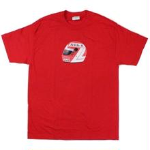 FELT  HELL HELMET TEE RED