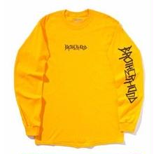 BROTHER HOOD ICONIC L/S TEE YELLOW