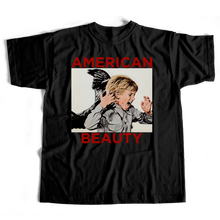 BOW3RY AMERICAN BEAUTY TEE  BLACK