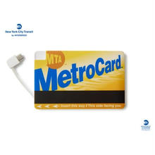MTA X INTERBREED METRO CARD MOBILE BATTERY