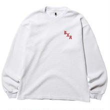 BORN X RAISED WAFFLE THERMAL   WHITE