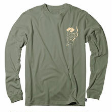 JHF SMOKE SIGNAL L/S TEE    Military Heather