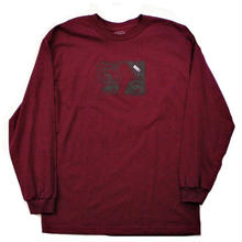 LABOR FLY L/S TEE BURGUNDY