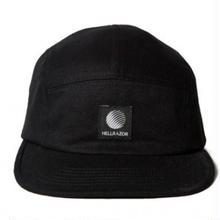 HELLRAZOR LOGO PATCH TWILL CAMP CAP-BLACK