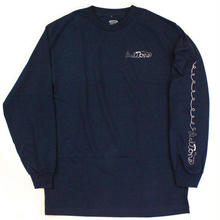 DIAL TONE CORD L/S TEE  NAVY