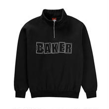 BAKER SKATEBOARDS  CADET QUATER ZIP     BLACK